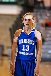 18 June 2011:Caitlin Hermann at the 2011 IBCA (Illinois Basketball Coaches Association) girls all star games.