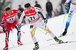 Ivan Babikov of Canda during men 9 km pursue race at the cross country Tour de Ski 2014 of the FIS cross country World cup competition on January 5th, 2014 in Alpe Cermis, Val di Fiemme, Italy. (Photo by Urban Urbanc / Sportida)