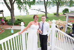 Julie and Patrick McDermott tied the knot in Hales Corners, Wisconsin at Hales Corners Lutheran Church, Friday, July 15, 2016
