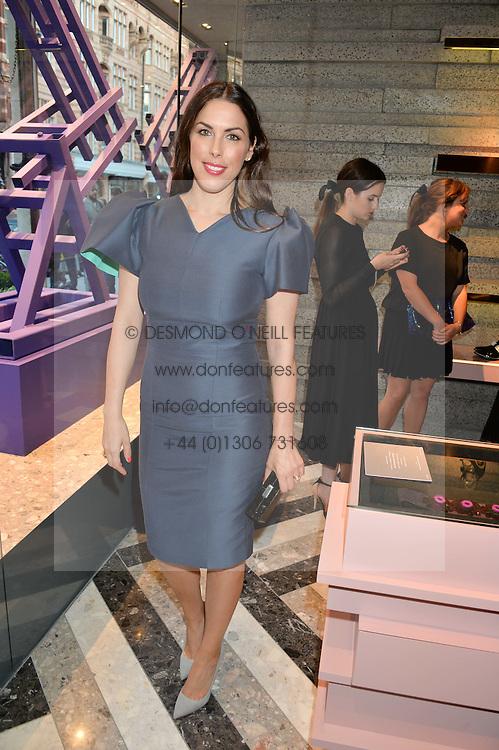 JESSICA DE ROTHSCHILD at the opening of Roksanda - the new Mayfair Store for designer Roksanda Ilincic at 9 Mount Street, London on 10th June 2014.