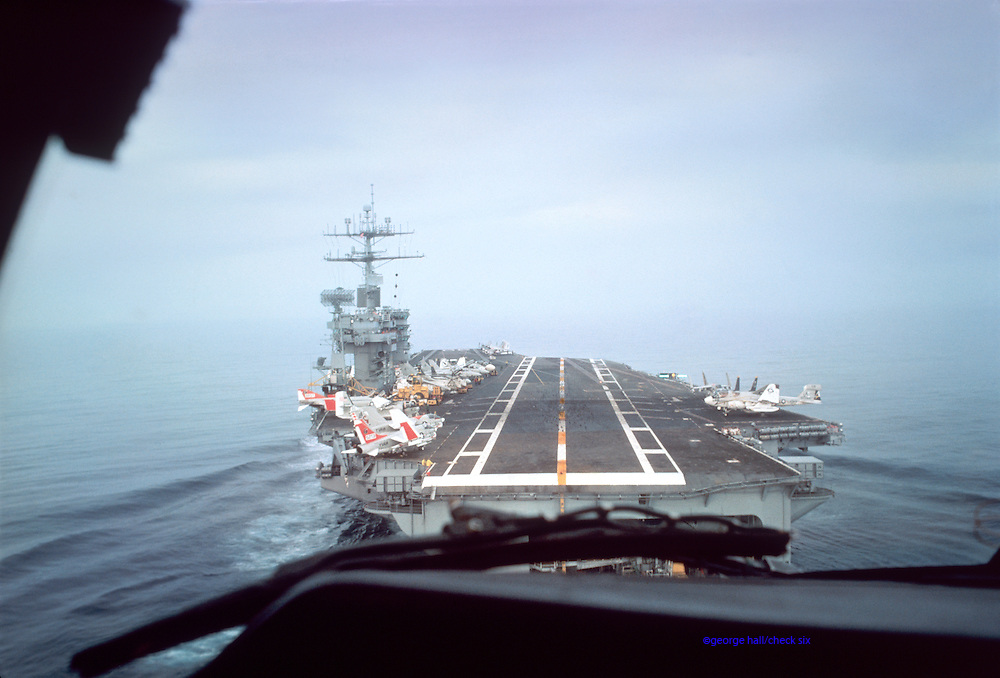 CVN-68 USS Nimitz Landing Approach military carriers