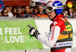 Winner Carlo Janka of Switzerland during 2nd Rund of Men's Giant Slalom of FIS Ski World Cup Alpine Kranjska Gora, on March 5, 2011 in Vitranc/Podkoren, Kranjska Gora, Slovenia.  (Photo By Vid Ponikvar / Sportida.com)