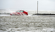 26/01/2016  Cars  in the flooding in Salthill as  storm Jonas hits the West coast. Photo:Andrew Downes, XPOSURE .