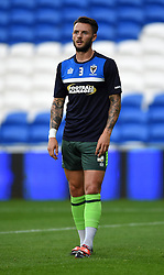 Callum Kennedy of AFC Wimbledon - Mandatory by-line: Paul Knight/JMP - Mobile: 07966 386802 - 11/08/2015 -  FOOTBALL - Cardiff City Stadium - Cardiff, Wales -  Cardiff City v AFC Wimbledon - Capital One Cup