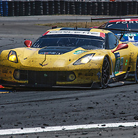 #63, Corvette Racing-GM,Chevrolet Corvette C7.R, driven by: Jordan Taylor, Jan Magnussen, Antonio Garcia, on 14/06/2017 at the 24H of Le Mans, 2017