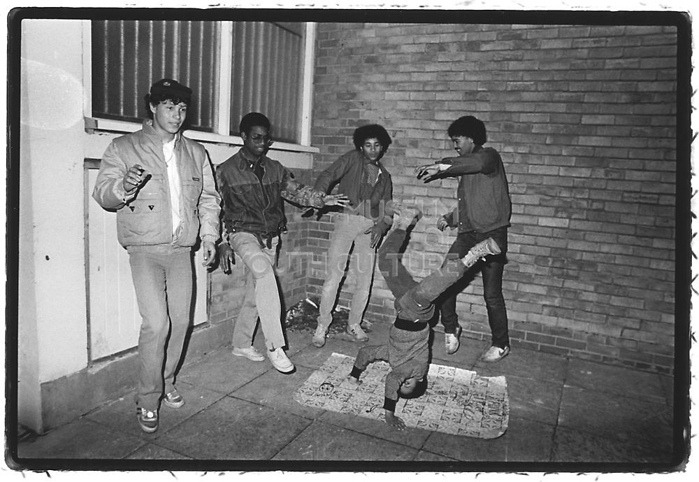 Layin' Down The Lino, Easton, Bristol, 1984