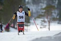 FLEIG Martin, GER, Short Distance Biathlon, 2015 IPC Nordic and Biathlon World Cup Finals, Surnadal, Norway