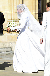 The wedding of Ellie Goulding and Casper Jopling, York Minster. Photo credit should read: Doug Peters/EMPICS
