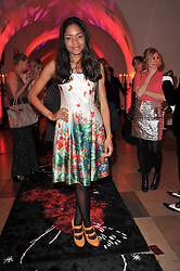 NAOMIE HARRIS at a fashion show & party to celebrate the launch of the Vanessa G label held at the Banqueting Hall, Whitehall, London on 23rd March 2011.