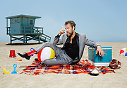 JR Bourne at the Beach