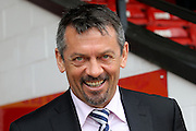 Southend United Manager Phil Brown during the Sky Bet League 1 match between Walsall and Southend United at the Banks's Stadium, Walsall, England on 16 April 2016. Photo by Chris Wynne.