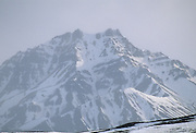 Cathedral Mountain, Snow and Ice, Denali National Park, Alaska