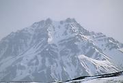 Cathedral Mountain, Snow and Ice, Denali National Park, Alaska