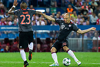 Bayern Munich's Arjen Roben during the match of Group stage of Champions League Atletico de Madrid and Bayern Munich at Vicente Calderon Stadium in Madrid. September 28, 2016. (ALTERPHOTOS/Rodrigo Jimenez)