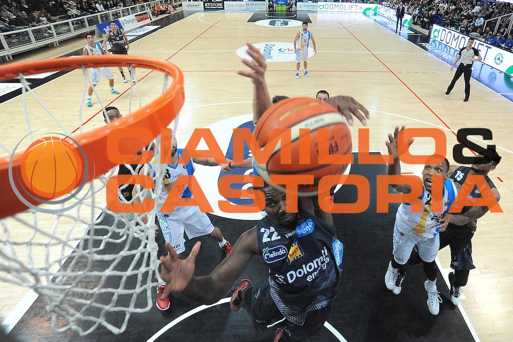 Dustin Hogue<br /> Dolomiti Energia Trentino - Betaland Capo D'Orlando<br /> Lega Basket Serie A 2016/2017<br /> Venezia 23/10/2016<br /> Foto Ciamillo-Castoria