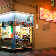 Pellegrini's Espresso Bar has been serving Melbourne coffee for over 50 years.