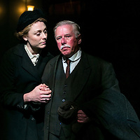 First Light by Mark Hayhurst<br /> Directed by Jonathan Munby<br /> Phil Davis as George Ingham<br /> Kelly Price as Agnes Ingham<br /> Minerva Theatre, Chichester Festival Theatre, UK<br /> 15 June 2016