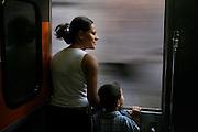 Belo Horizonte_MG, Brasil...Trem de passageiros da Estrada de Ferro Vitoria-Minas...The passenger train of the Railroad Vitoria-Minas...Foto: MARCUS DESIMONI / NITRO