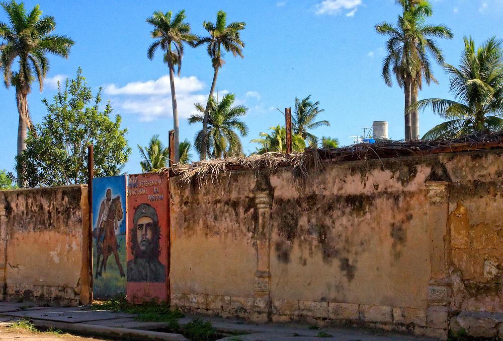 Maceo and Che in Cardenas, Matanzas, Cuba.