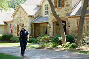 Officer Brad Uptmore of the Southlake Police Department responds to a call in Southlake, Texas on June 23, 2017. &quot;CREDIT: Cooper Neill for The Wall Street Journal&quot;<br /> Police