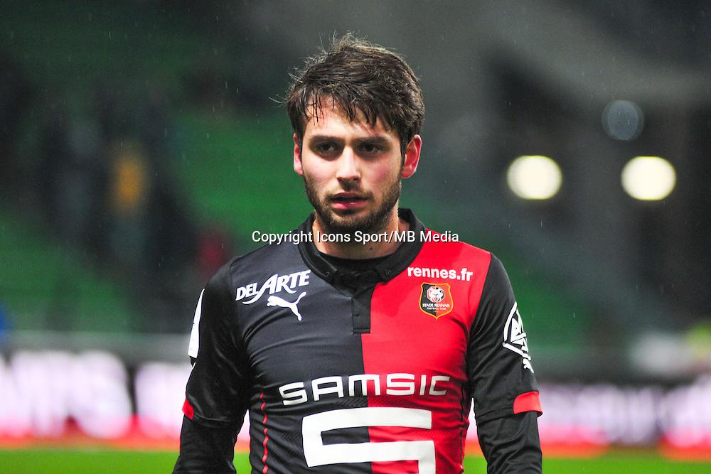 Sanjin Prcic  - 18.01.2015 - Rennes / Saint Etienne - 21eme journee de Ligue 1 - <br /> Photo : Philippe Le Brech / Icon Sport