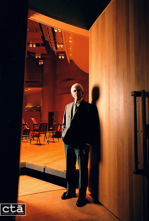 The man behind the scenes of the Baltimore Symphony Orchestra, chairman Buddy Zamoiski.