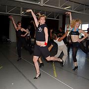 Perspresentatie Crazy for you musical, cast repetitie