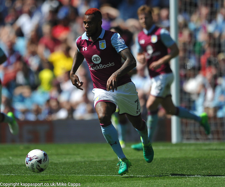 Aston Villa v Brighton &amp; Hove Albion Sky Bet Championship Villa Park, Brighton Promoted to Premiership Sunday 7th May 2017 Score 1-1 <br /> Photo:Mike Capps