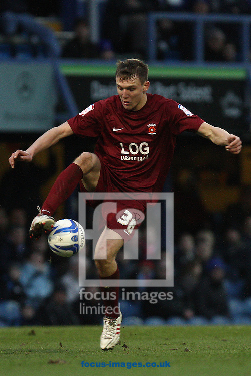 Picture by Daniel Chesterton/Focus Images Ltd +44 7966 018899.26/01/2013.Charlie Wyke of Hartlepool United during the npower League 1 match at Fratton Park, Portsmouth.