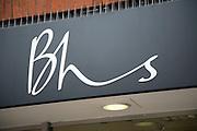 BHS shop logo, Colchester, Essex