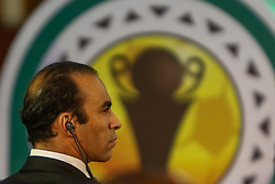 March 21, 2018 - Cairo, Egypt - Sayed Abdel Hafez, Director of Football at Al Ahly Club during The draw of the group stage of Total CAF Champions League and 2nd 1/16th round of the Total CAF Confederation Cup conduct on Wednesday, 21 March 2018 in Cairo, Egypt. (Credit Image: © Islam Safwat/NurPhoto via ZUMA Press)
