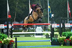 Al Thani Bin Khalid Ali, QAT, Vienna Olympic<br /> LGCT Valkenswaard 2015<br /> © Sharon Vandeput<br /> 15/08/15