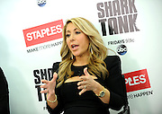 Shark Tank's Lori Greiner talks about innovation at a small business panel hosted by Staples, Tuesday, April 7, 2015, in New York.  For the first time, Staples is selling Shark Tank products created by entrepreneurs featured on the show.   (Photo by Diane Bondareff/Invision for Staples/AP Images)