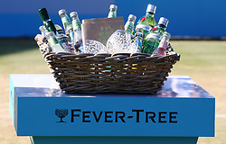 June 24, 2018 - London, England, United Kingdom - Both player will received a special Hamper from Fever-Tree.After Fever-Tree Championships Final match between Marin Cilic (CRO) against Novak Djokovic (SRB) at The Queen's Club, London, on 24 June 2018  (Credit Image: © Kieran Galvin/NurPhoto via ZUMA Press)