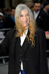 Patti Smith arrives for the UK premiere of the film 'Noah', Odeon, London, United Kingdom. Monday, 31st March 2014. Picture by Chris Joseph / i-Images