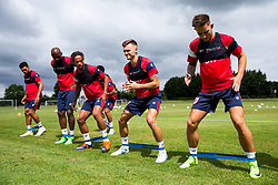 Jamie Paterson in action as Bristol City return for pre-season training ahead of the 2017/18 Sky Bet Championship Season - Rogan/JMP - 30/06/2017 - Failand Training Ground - Bristol, England - Bristol City Training.