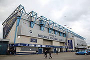 General view outside the Den stadium before The FA Cup fourth round match between Millwall and Everton at The Den, London, England on 26 January 2019.