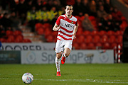 John Marquis of Doncaster Rovers during the EFL Sky Bet League 1 match between Doncaster Rovers and Barnsley at the Keepmoat Stadium, Doncaster, England on 15 March 2019.