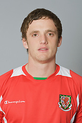SWANSEA, WALES - Monday, March 30, 2009: Wales' Under-21 Andy King. (Photo by David Rawcliffe/Propaganda)