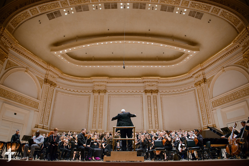 Photographs from the 500th Anniversary of the Reformation Hymn Festival, hosted by Concordia College—New York, Bronxville, on Sunday, June 25, 2017, at Carnegie Hall in New York City.  LCMS Communications/Erik M. Lunsford