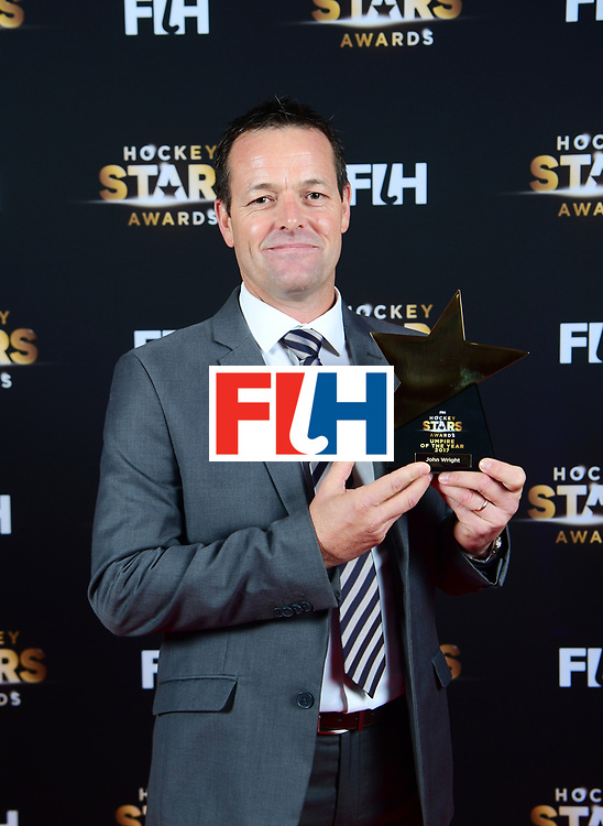 BERLIJN - FIH Hockey Stars Awards<br /> Foto: Best Umpire<br /> John Wright<br /> WORLDSPORTPICS COPYRIGHT FRANK UIJLENBROEK