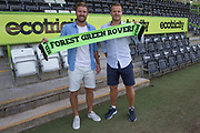 Scott Laird becomes the latest Forest Green Rovers Signing at the New Lawn, Forest Green, United Kingdom on 20 June 2017. Photo by Shane Healey.