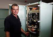 Industrial portrait shoot for Raytheon Electronics Group on board a Royal Australian Navy submarine.