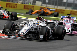 October 28, 2018 - Mexico-City, Mexico - Motorsports: FIA Formula One World Championship 2018, Grand Prix of Mexico, ..#9 Marcus Ericsson (SWE, Alfa Romeo Sauber F1 Team) (Credit Image: © Hoch Zwei via ZUMA Wire)