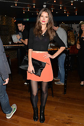 SARAH ANN MACKLIN at the opening party of MODE nightclub, 12 Acklam Road, London on 4th April 2014.