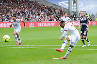 Goal Alexandre LACAZETTE - 02.05.2015 - Lyon / Evian Thonon - 35eme journee de Ligue 1<br />
