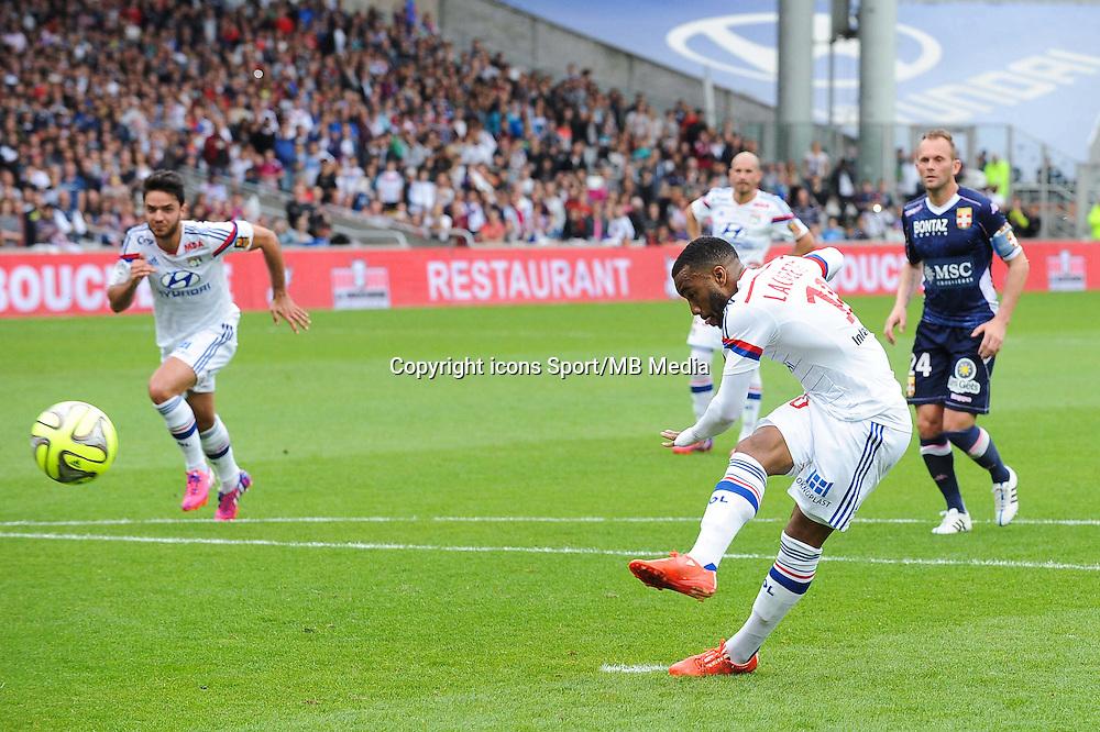 Goal Alexandre LACAZETTE - 02.05.2015 - Lyon / Evian Thonon - 35eme journee de Ligue 1<br />Photo : Jean Paul Thomas / Icon Sport