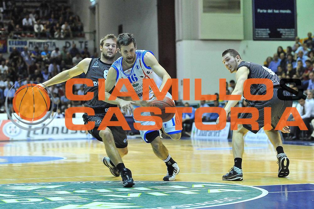 DESCRIZIONE : Eurocup 2013/14 Gir. B Dinamo Banco di Sardegna Sassari - Bilbao Basket<br /> GIOCATORE : Drake Diener<br /> CATEGORIA : Palleggio Penetrazione<br /> SQUADRA : Dinamo Banco di Sardegna Sassari<br /> EVENTO : Eurocup 2013/2014<br /> GARA : Dinamo Banco di Sardegna Sassari - Bilbao Basket<br /> DATA : 23/10/2013<br /> SPORT : Pallacanestro <br /> AUTORE : Agenzia Ciamillo-Castoria / Luigi Canu<br /> Galleria : Eurocup 2013/2014<br /> Fotonotizia : Eurocup 2013/14 Gir. B Dinamo Banco di Sardegna Sassari - Bilbao Basket<br /> Predefinita :