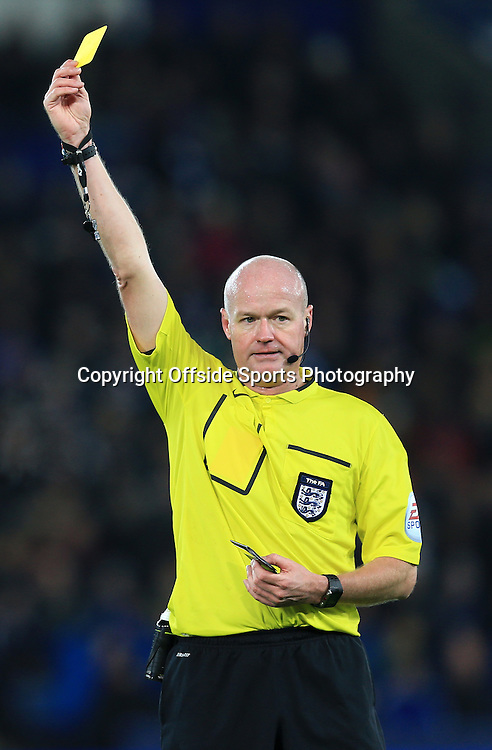 3 January 2015 - The FA Cup 3rd Round - Leicester City v Newcastle United - Referee, Lee Mason - Photo: Marc Atkins / Offside.
