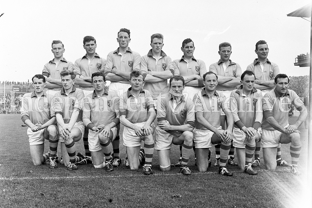 The Roscommon team that played in the 1962 All-Ireland football final. 22/9/62. R3422.  (Part of Independent Newspapers Ireland/NLI Collection)